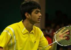 shuttler sai praneeth upsets second seed in singapore