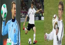 fifa world cup the crucial five players for germany