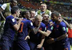 fifa world cup rampant netherlands outclass reigning champs