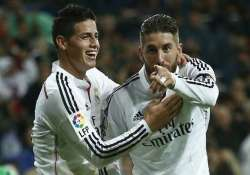 real madrid s james rodriguez ramos out for a long haul