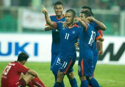 india beat afghanistan 2 1 to lift saff cup title for 7th