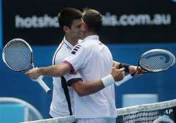 australian open djokovic continues to dominate