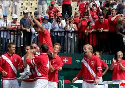 davis cup swiss advance to world group