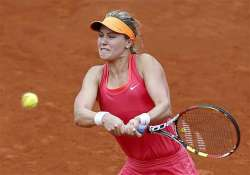 french open eugenie bouchard eases into women quarter final