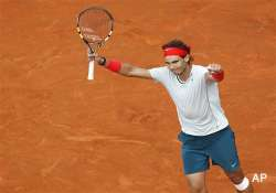 italian open nadal struggles to beat qualifier gulbis in