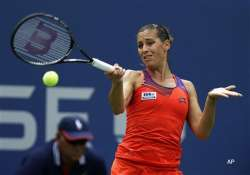 us open fourth seed errani ousted roundup