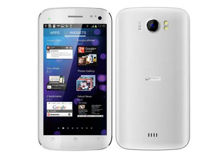 micromax s canvas ii a110 tops the list for most searched handsets for january 2013- India Tv