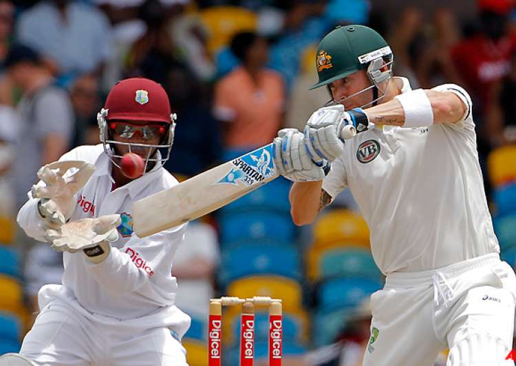 australia beats west indies by 3 wickets- India Tv
