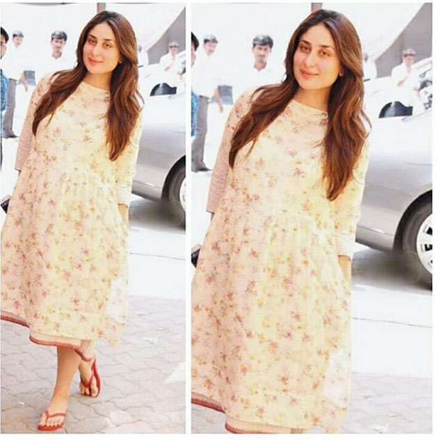Not just the decked up looks, Kareena Kapoor dazzles in her easy breezy attires and chappals as well.