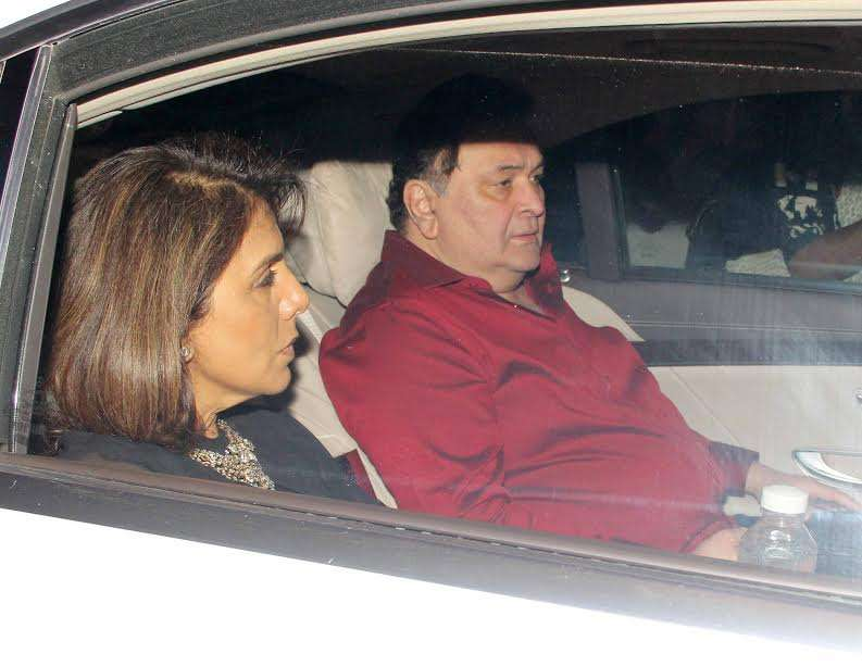Rishi Kapoor and Neetu Kapoor were also present at the event.