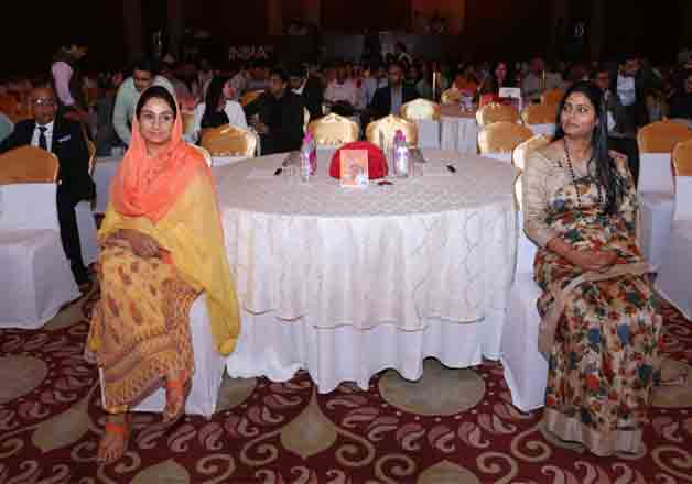 Anupriya Patel and Harsimrat Patel at India TV Samvaad