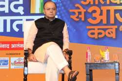 Union minister Arun jaitley was present at India TV's