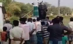 CRPF jawan arrested for vandalising Periyar statue in Tamil