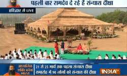 Baba Ramdev grooms 90 sanyasis