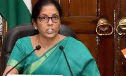 File pic of Defence Minister Nirmala Sitharaman