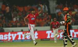 Ankit Rajpoot removes Shikhar Dhawan and Kane Williamson