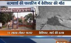 Two bike-borne assailants opened indiscriminate firing at a