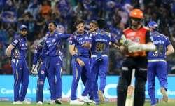 MI vs SRH, IPL 2018 Live Cricket Score: Mitchell