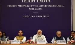 PM Modi during NITI Aayog Meet.