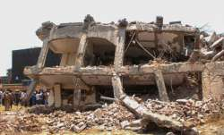 Greater Noida: Rescue works underway at the site of the