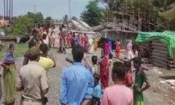 Bridge collapses in West Bengal
