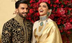 Deepika Padukone and Ranveer Singh looked royal at their