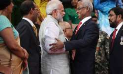 PM Modi congratulating Ibrahim Mohamed Solih