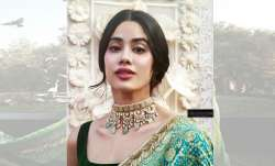 Janhvi Kapoor redefines elegance in this light green sari.