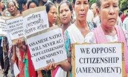Protest against citizenship amendment bill.