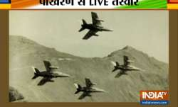 IAF carries out mega exercise at Pokhran