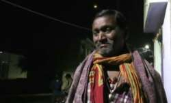 Father of a CRPF personnel Ratan Thakur who was killed in