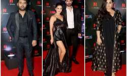Bollywood and TV celebrities rocked the red carpet at the