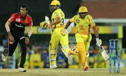 Live Cricket Score, IPL 2019, CSK vs RCB, Match 1: Rayudu,