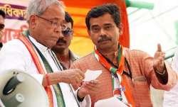 Former President Pranab Mukherjee and his son Abhijit