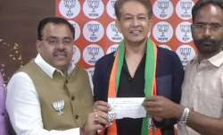 Well-known hair dresser Jawed Habib joins BJP