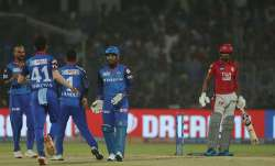 IPL 2019, DC vs KXIP, Live Match Score: Lamichhane removes