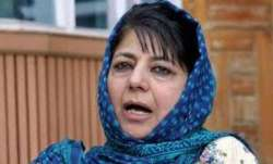 Home turf of Mehbooba Mufti saw 40 polling booths with zero