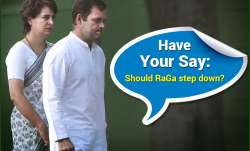 Should Rahul Gandhi also resign and make way for a new,