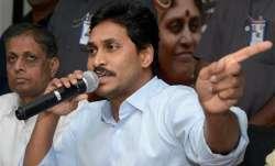 YSR Congress Party chief Y.S. Jagan Mohan Reddy