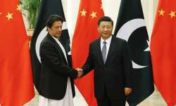 Pak Prime Minister Imran Khan with Chinese Premier Xi