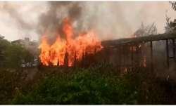 Fire atHowrah Railway Museum