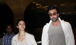 Lovebirds Alia Bhatt and Ranbir Kapoor were sotted twinning