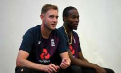 Jofra Archer and Stuart Broad