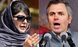 Govt opens channels of communication with Omar, Mehbooba