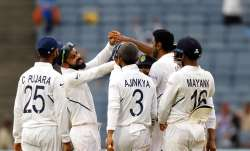 India took command on Day 3 of the Test match as the hosts