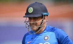 MS Dhoni has been away from international cricket since