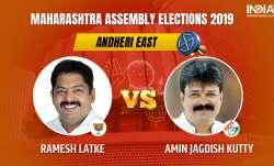 Andheri East Constituency Result: Ramesh Latke of BJP leads