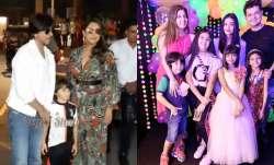Shah Rukh Khan's son Abram, Karan Johar's kids and others attend Aaradhya's birthday bash