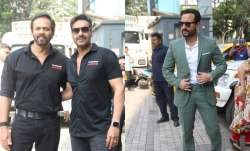 Ajay Devgn, Saif Ali Khan launch the trailer of their