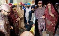 Deepika Padukone First Wedding Anniversary: Deepika Padukone Golden Temple Ranveer Singh First Weddi